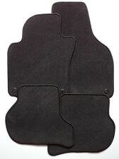 Autoteppiche Fußmatten Skoda Octavia ll RS 1Z schwarz Nadelfilz  runde Stopper