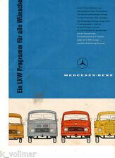 Mercedes-Benz Camión Sämtliche modelos L 319/3 Datos Técnicos Prospecto