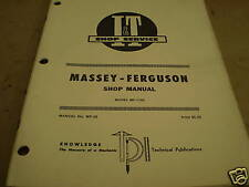 MASSEY FERGUSON I&T IT MANUAL MF 1150 TRACTOR  MF-30