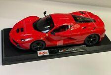 LaFerrari Ferrari Race Car Red Maisto NEW 1:18 Scale Die Cast Special Edition