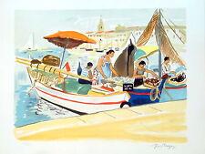 Yves Brayer La Fraiche Litho originale signée et numérotée P1539
