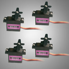 RC Servo 4x Metal Gear 9g Micro for Align Trex 450 RC Helicopter Airplane I