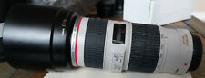 SUPERB CANON EF 70-200MM F/4 L IS USM LENS - OUTSTANDING IMAGE QUALITY