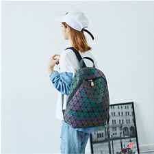 Mochila de Moda Asiática luz que refleja geométrica Bolsa De Diseñador De Cambio De Color