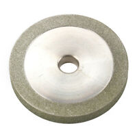 "3"" Diamond Grinding Wheel Abrasive Disc for Carbide File Grinder 1/2"" Bore 150#"