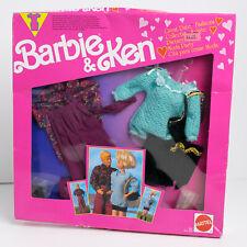 NRFB 1991 Barbie & Ken Great Date Fashions #2972