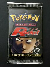 1st Edition 1999 Team Rocket Returns Sealed Pokemon Booster packs MINT Art 2