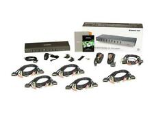 IOGEAR GCS1108KIT1 - 8 PORTS DVI  KVM / audio / USB WITH VGA SUPPORT