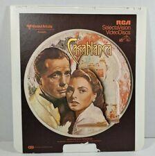United Artist Casablanca RCA Selectavision Videodisc CED