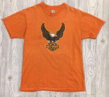 Vintage 70s Harley Davidson T-Shirt Size Large