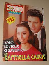 NOVELLA 2000 RAFFAELLA CARRA fotoromanzo  SOLO LE STELLE CI GUARDANO 1960 / 1987