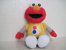 "Sesame Street Rockin' Shapes & Colors ELMO SINGING TALKING 13"" Plush Stuffed"