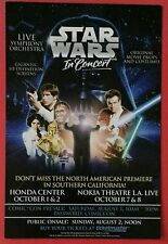 Star Wars In Concert - Exclusive Promo Card Collectable - SDCC Exclusive