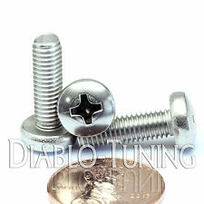 M5 x 16mm - Qty 10 - Stainless Steel Phillips Pan Head Machine Screws DIN 7985 A
