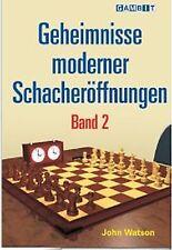 Schach: John L. Watson - Geheimnisse Moderner Schacheröffnungen Band 2 - NEU !!