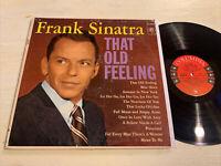 Frank Sinatra That Old Feeling LP Columbia 6 Eye Mono Original EX!!!!