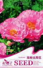 1 Pack 200 Sunflower Seeds Portulaca Grandiflora Rose Pink Heronsbill A250