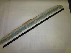 NOS 1959-60 Chevy 4dr Belair Biscayne Impala Station Wagon Window Fuzzy 4756227