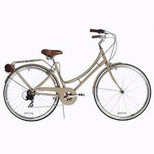 XDS Nadine Women's 7-speed Aluminum Dutch Bicycle - Vanilla