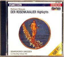 DENON 1987 CD JAPAN PCM DIGITAL R. Strauss VONK Der Rosenkavalier DC-8010