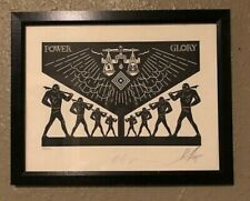 """Shepard Fairey Cleon Peterson """"Scales of Injustice"""" 2016 Print Signed Number"""