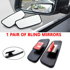 2X SIDE AUXILIARY BLIND SPOT WIDE VIEW MIRRORS 360° LARGE REARVIEW RV VAN TRUCK
