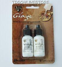 Vintaj Patina Matte And Gloss Finish Glaze Kit