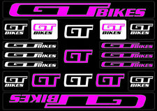 2 x GT Reproduction High Flange BMX Hub Decals//Sticker 1990/'s Mid//Old School