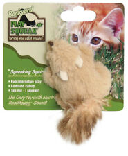 OURPETS PLAY N SQUEAK BACKYARD SQUIRREL SOUND LIGHT KITTEN CAT TOY FREE SHIP USA
