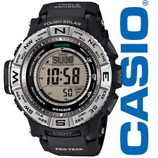 Brand New In Box Casio Protrek Tough Solar Triple Sensor Atomic Watch PRW3500-1