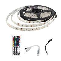 5M 300 LED SMD 5050 DC12V RGB Waterproof LED Strip + Mini Remote Control BT