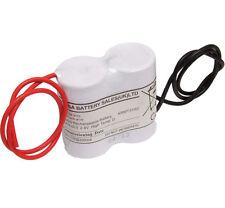 Yuasa 2DH4-0L3, 2.4V 4AH Ni-Cd Rechargeable Emergency Lighting Battery Pack