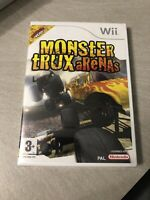NEUF NEW monster trux arenas nintendo WII sealed blister