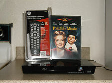Refurbished Sony BDP-S3200 1080P Blu-Ray Wi-FI Player With 4 - 1 Remote & 1 DVD