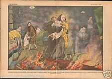 Bernardsville Somerset County New Jersey Fire Dormitory Orphan 1927 ILLUSTRATION