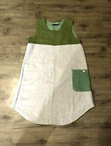 Gudrun Sjoden (Sjödén) Linen Dress Size M
