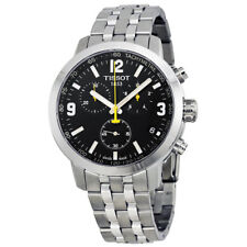 NEW TISSOT MENS SWISS PRC 200 CHRONOGRAPH WATCH - T0554171105700 - RRP £380
