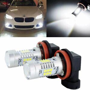 2X H8 H11 6000K White LED Fog Light For BMW 320i 328i 335i 525i 528i 535i xDrive