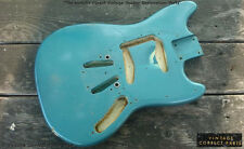 Vintage 1965 Fender Mustang Body PRE-CBS Blue Green over OLY white Project 1964