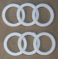 Humphrey L24-15-6PK Burner Nose Seal Gaskets 6 Pack for Humphrey Gas Lights