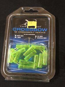 Carbon Express Crossbolt Nock Universal Green- MPN 54001