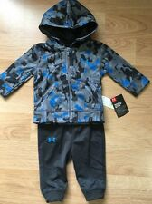 Under Armour Outfit Baby Toddler Size 3/6 Months Hoodie And Pants NEW!!