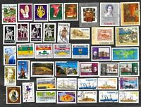 Canada Stamps & Large Pictorials Used FREE Shipping U. S.