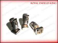 Brand New 1950s Enfield Front Number Plate Fixing Nuts - Best Quality