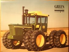 John Deere Model 7020 Tractor Green magazine, Trailer history