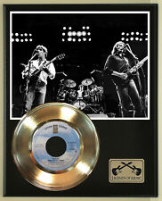 """Eagles """"New Kid In Town"""" Record Display Wood Plaque"""