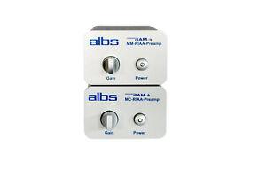 albs RAM-4 MM + RAM-6 MC Entzerrervorverstärker Kombiangebot Phonopre RIAA