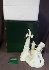 Dept 56 Snowbabies Will It Snow Today 68446 Penguin Walrus With Box