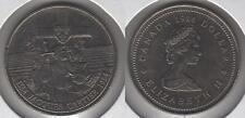 1984 JACQUES CARTIER  Canada One Dollar Coin. NICE GRADE UNC.