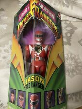 "1993 MMPR  Mighty Morphin Power Rangers Red Ranger Jason 8"" Action Figure  NISB"